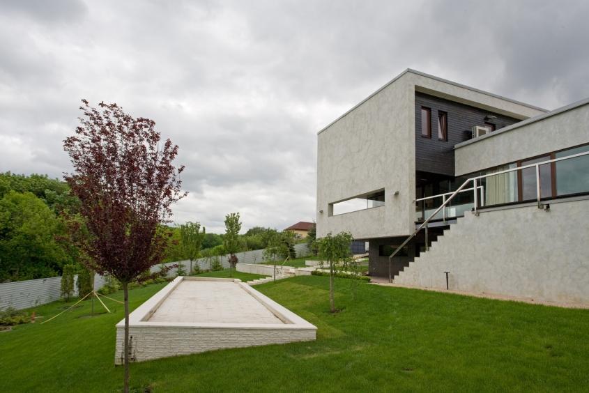 Garden Patio архитектурный проект частного дома в Харькове. Архитектурное проектирование 5-5 (2)