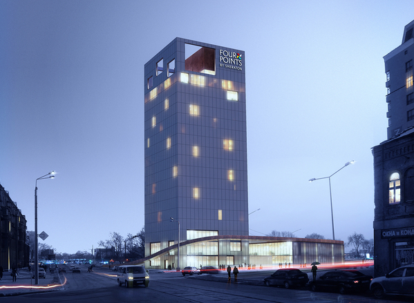 Hotel on Rybna Sq.